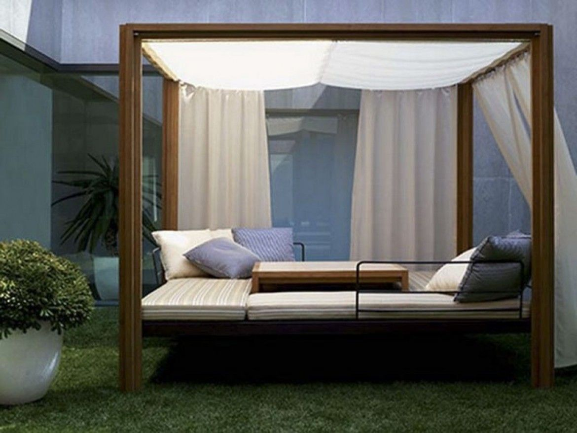 - Cool Outdoor Canopy Bed (With Images) Outdoor Canopy Bed, Modern