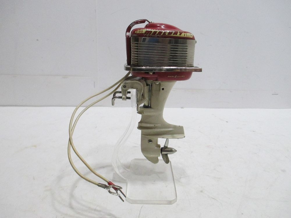 Mercury outboard motor in good condition tested and works for How does an outboard motor work