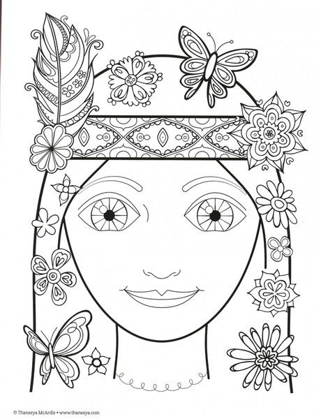 Peace and Love Adult Coloring Book | Dibujos | Pinterest | Colorear ...