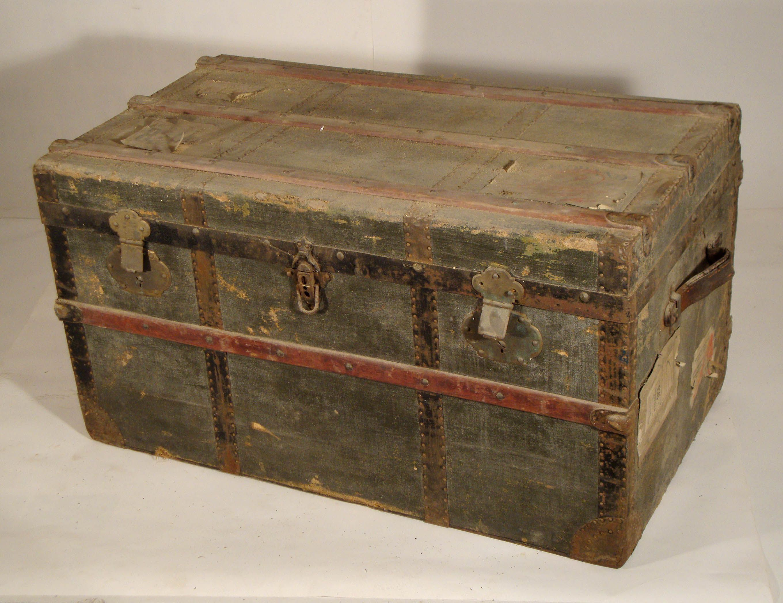 Malle De Voyage Ancienne Old Suitcases And Trunks