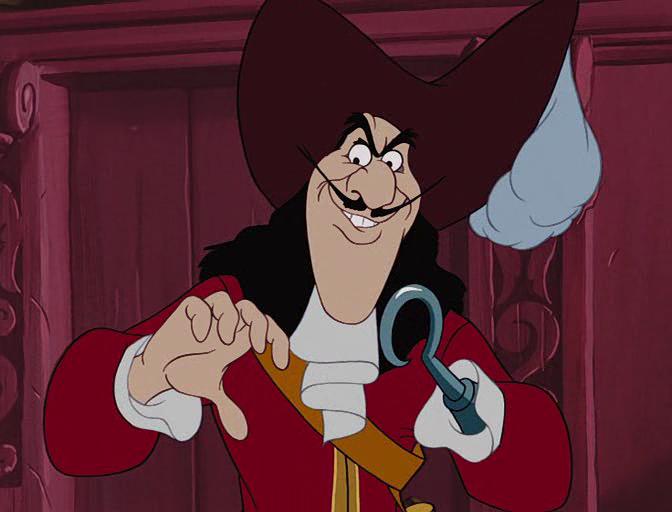 Captain Hook Peter Pan 1953 Captain Hook Peter Pan Captain Hook Disney Villians