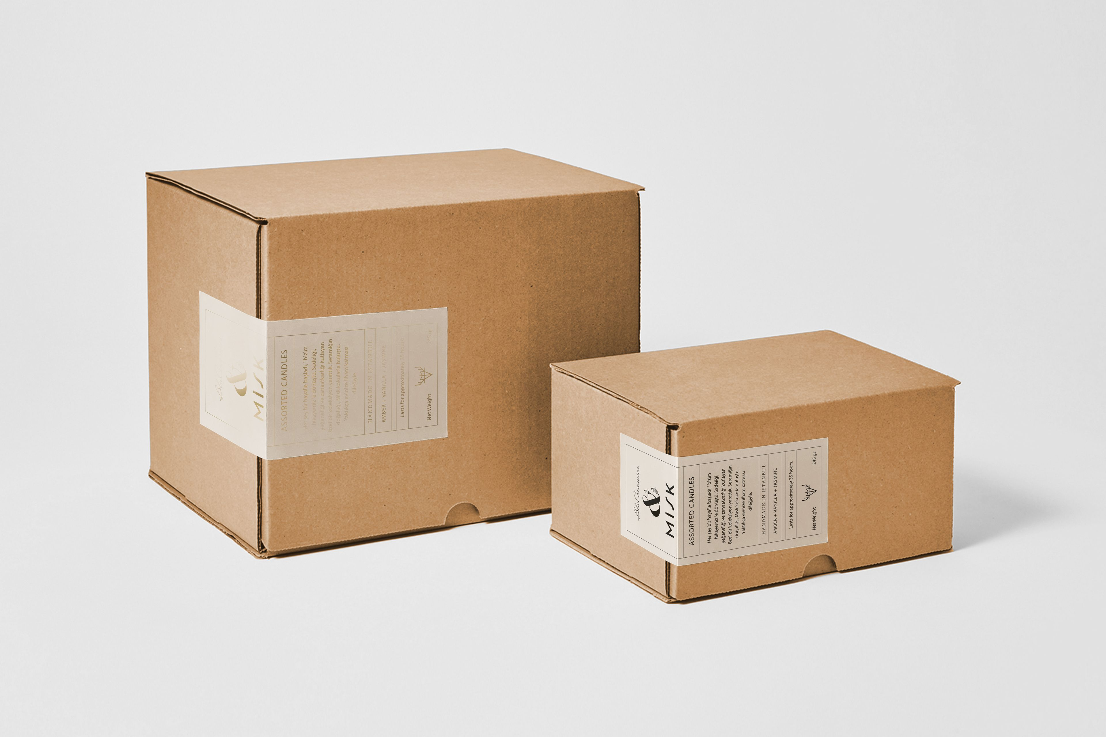 Candle Box Packaging By Cansu Merdamert Candle Packaging Candle Box Packaging Candle Box Design