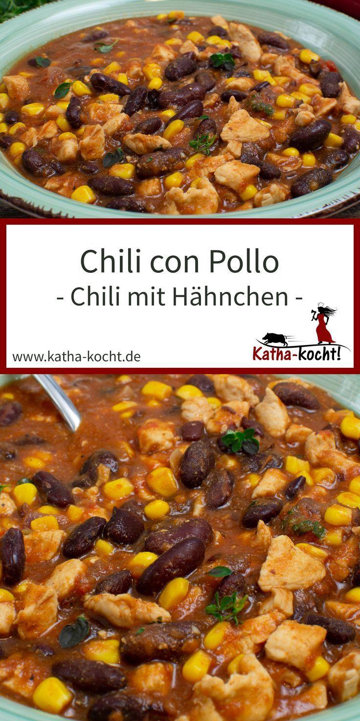 Chili con Pollo - Chili mit Hähnchen | Geflügel | Weight ...