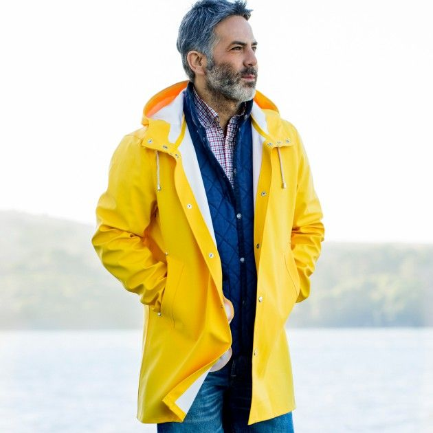 Men's Stutterheim Raincoat | Guideboat Company | Men's Apparel ...