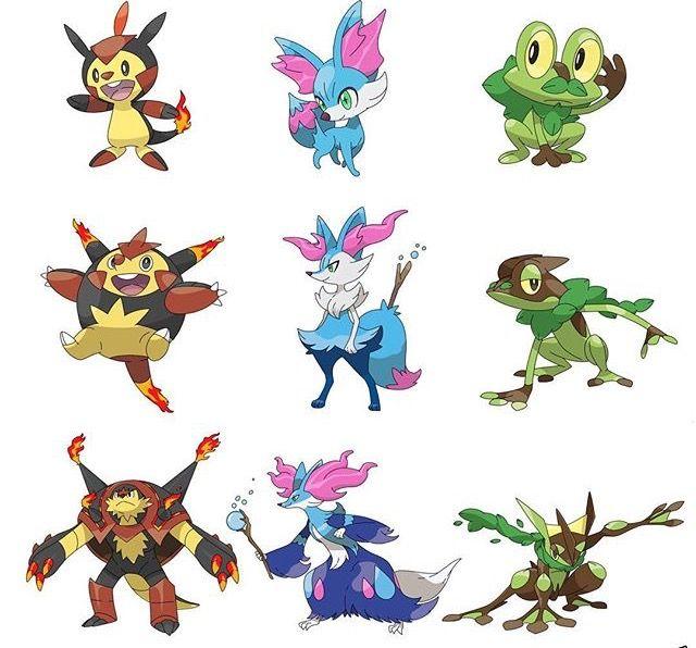 Gen 6 Swap element | Pokemon. Pokemon fusion art. Pokemon breeds