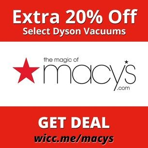 Just Stumbled Across This Cool Page For Textylo Dyson Vacuums Find Coupons Macys