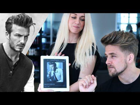 Mariano Di Vaio Haircut Hairstyling Tutorial MoquerHD Mens - Beckham hairstyle 2015 tutorial