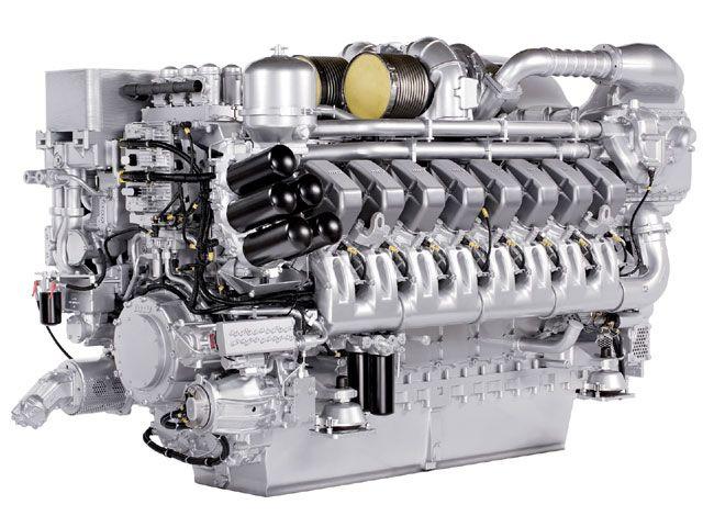 Marine diesel engine MTU 4000 series, good things come from