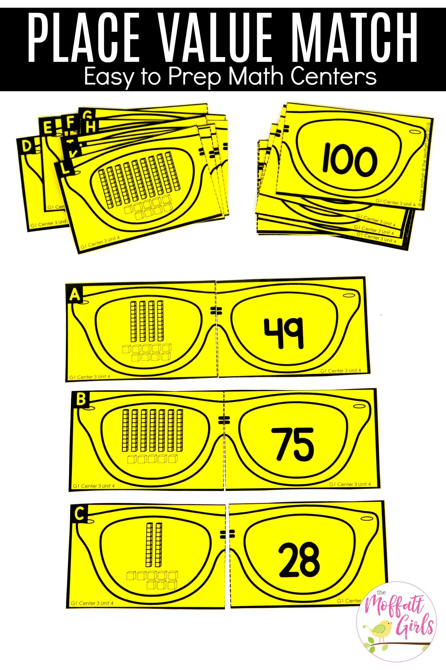 how to teach place value first grade