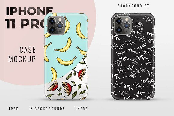 iPhone 11 Pro Case Mockup by shaman on @creativemarket ...