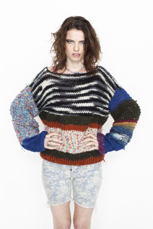 ruttiger:  Rihanna wearing my Mexican Magic jumper.