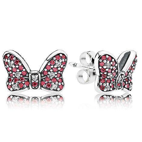 f4e6c50a8 ... new zealand minnie mouse sparkling bow earrings by pandora ca21e a858e  ...