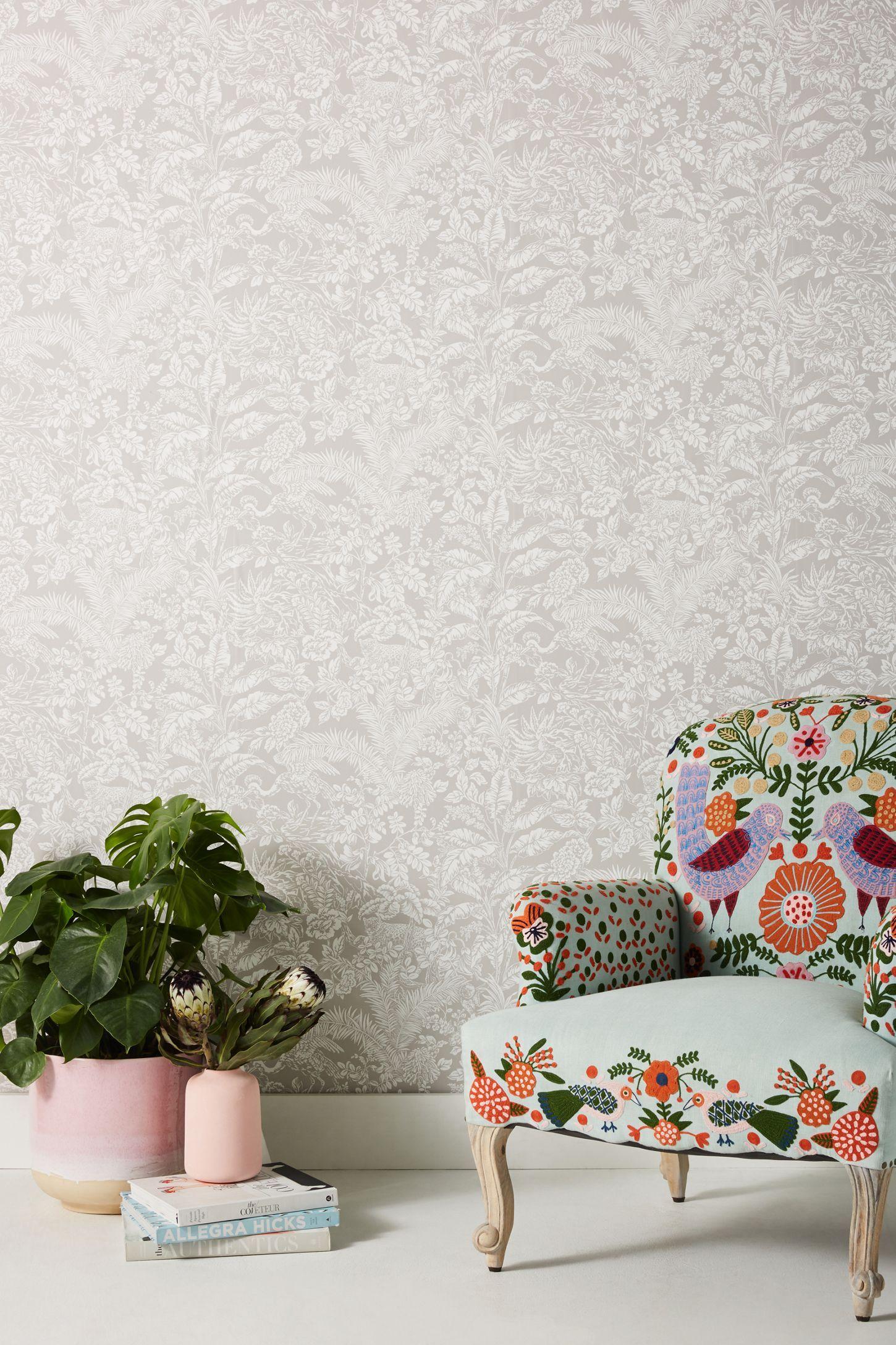 Botanical Sanctuary Wallpaper Wallpaper Manufacturers Li