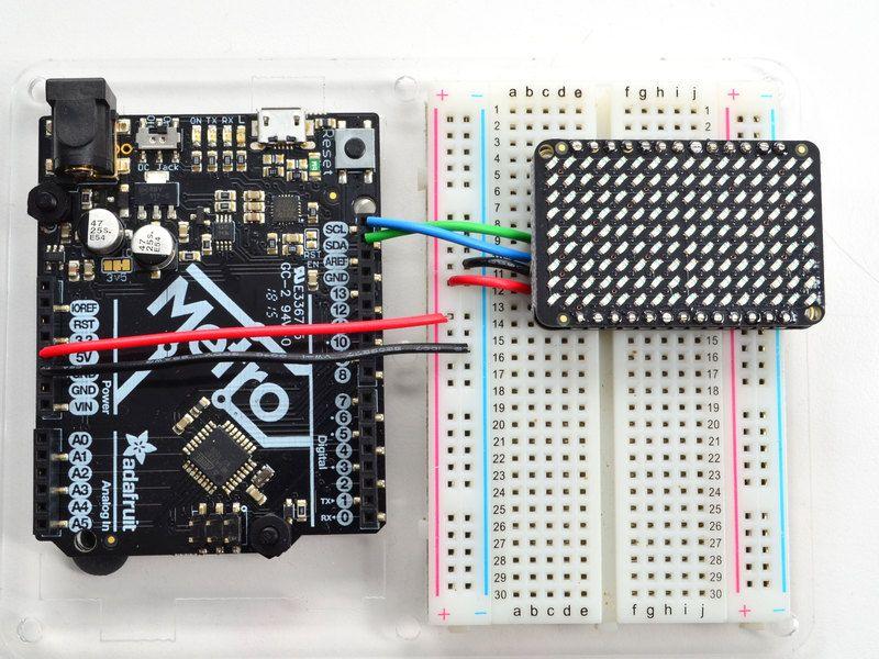 led_matrix_wiring.jpg Led drivers, Led matrix, Led