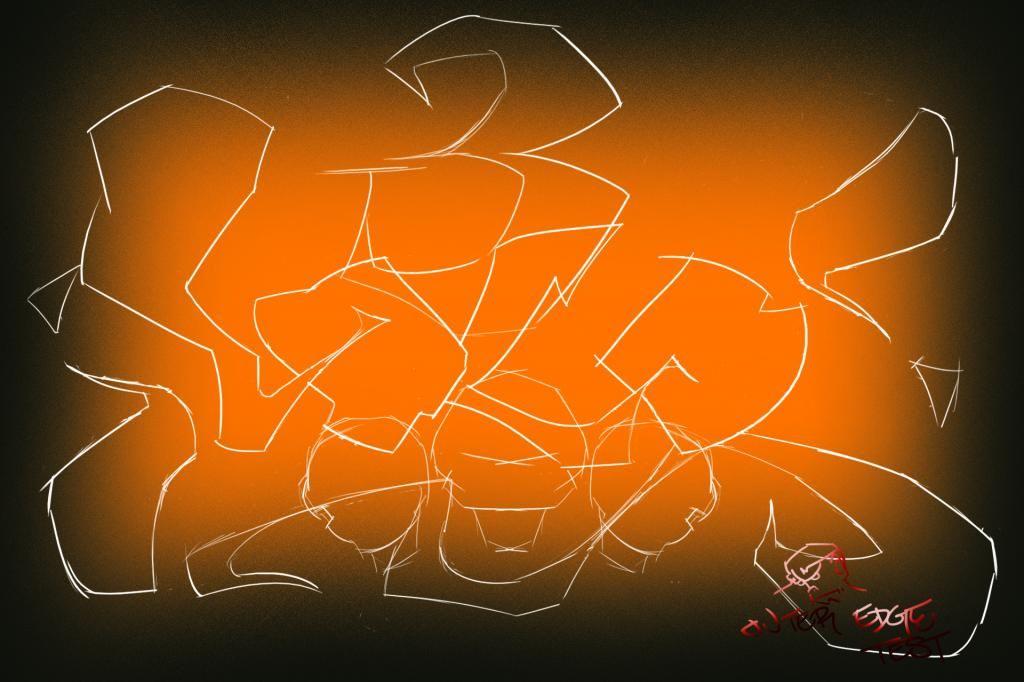 UX3 pinstripe graffiti (day of the dead skulls) #ThreeLOCO @THREELOCO inspiration sketch