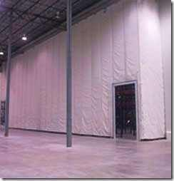 Custom Made Insulated Warehouse Curtains With Images Insulated