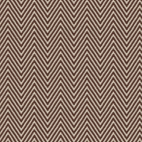 Big Zig: This heavy cotton fabric has a dark brown and white ...