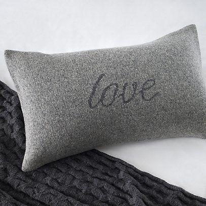 Love Cushion Cover | The White Company
