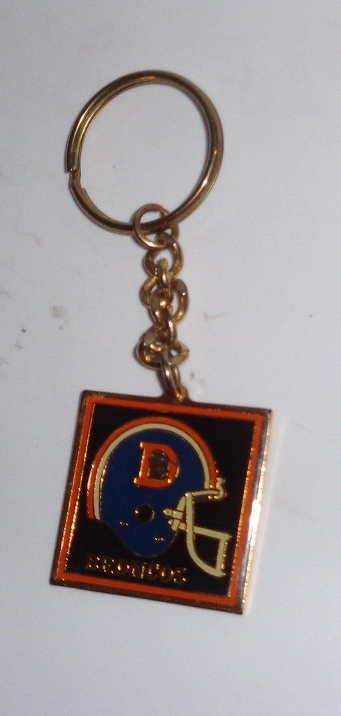 7417bb994ba09a Denver Broncos Old Logo Helmet Keychain | Denver Broncos Football ...