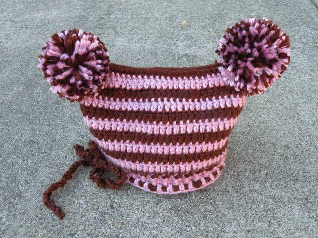 crochet pom pom hat pattern - Buscar con Google | tejamos ¿? | Pinterest
