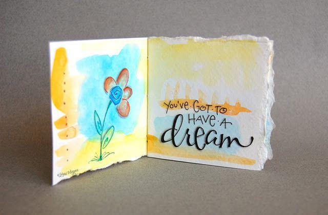 dream quote illustrated by lori vliegen
