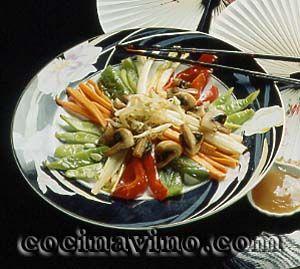 Rica receta vegetariana