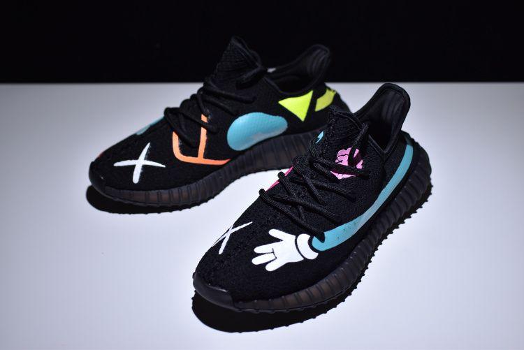 4904bb04f6a30 KAWS x Adidas Yeezy Boost V2 350