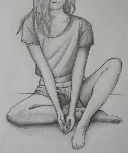 Zeichnung; Skizzieren; Strichmännchen; Bleistiftzeichnung, Mal-Tutorial; Einfaches Zeichnen; ... #artanddrawing