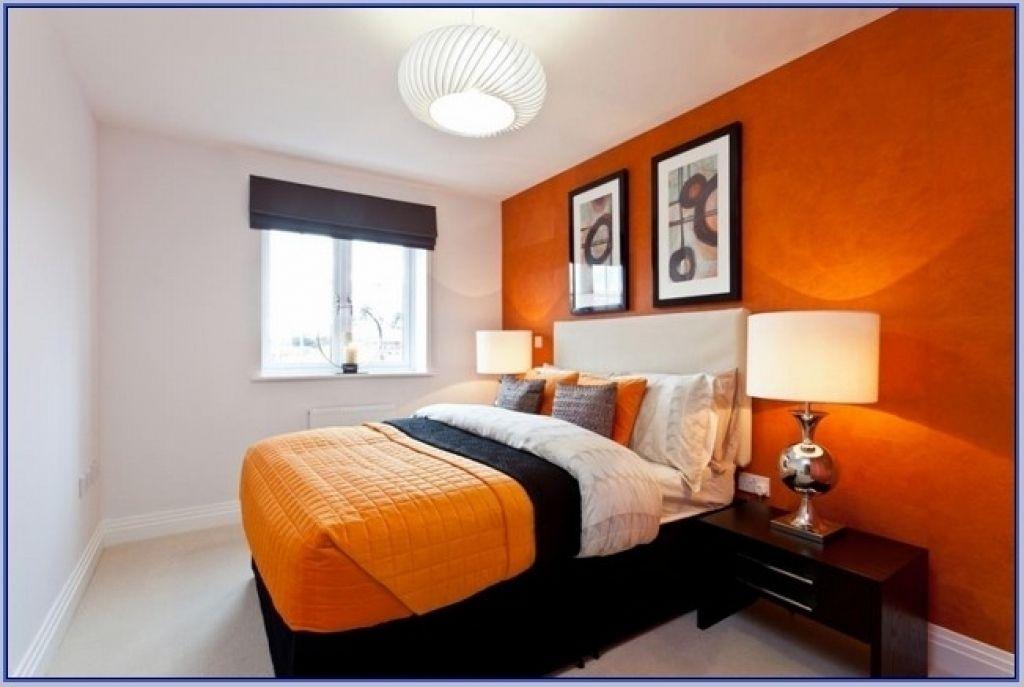 Orange Schlafzimmer Deko Ideen #Badezimmer #Büromöbel #Couchtisch