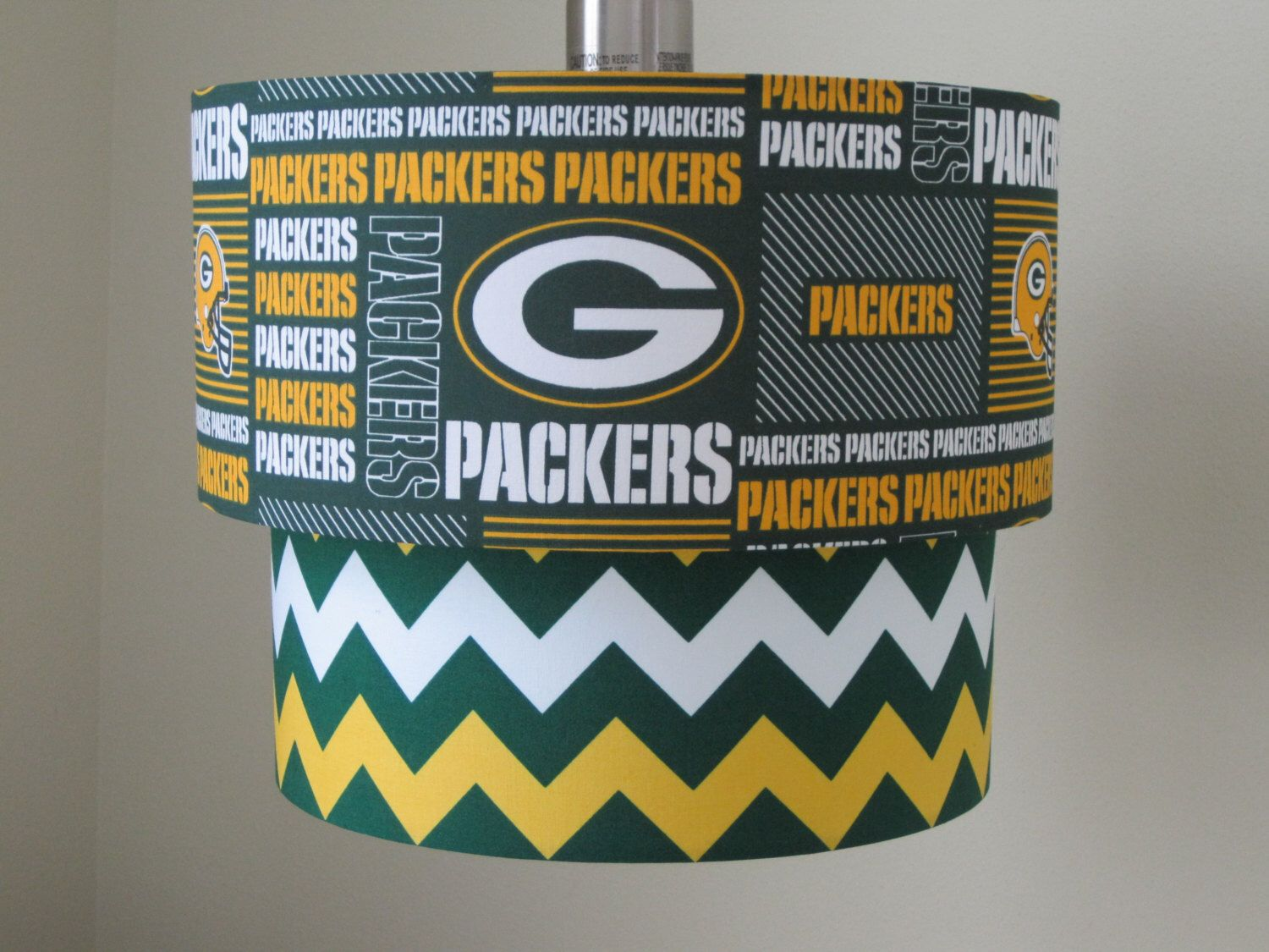Lamp shade green bay packers drum lampshade 2 tier by lamp shade green bay packers drum lampshade 2 tier by sweetdreamshades on etsy https mozeypictures Image collections