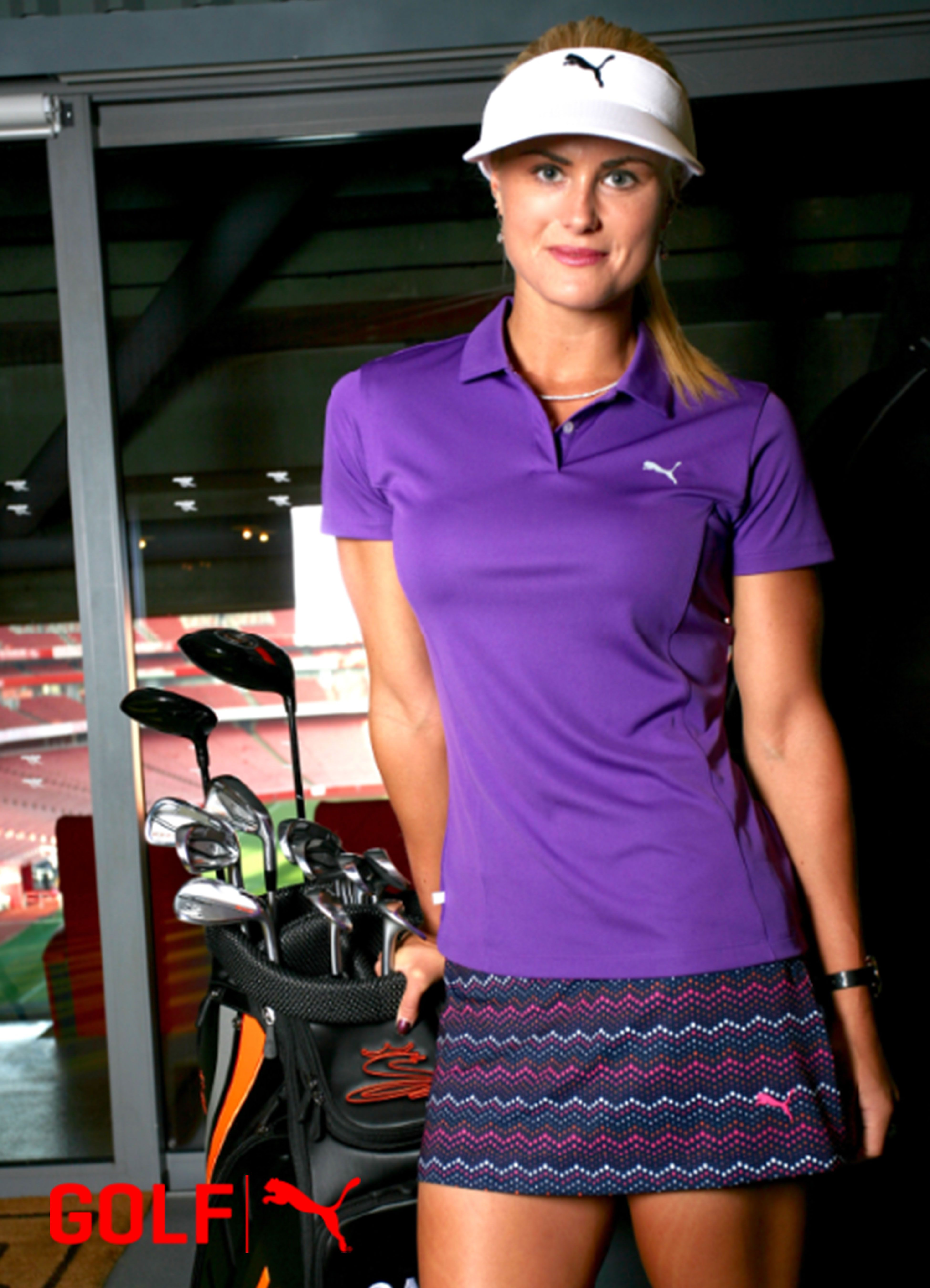 d3a4fc2f501e Carly Booth Cobra & Puma Spring/Summer'17 Look | Her Golf Style ...