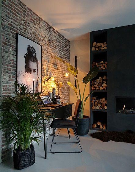 Een werkplek in huis | Huizedop