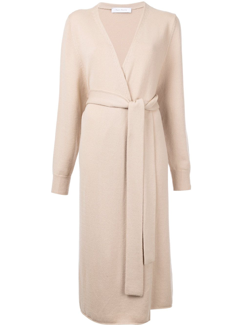 Ryan Roche Cashmere Long Belted Cardigan | Cashmere, Knitwear and ...