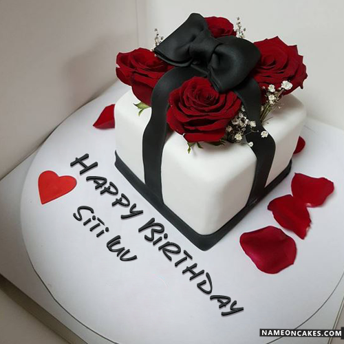 Names Picture Of Siti Luv Is Loading Please Wait Birthday Cake Writing Happy Birthday Cake Images Birthday Cake Gift
