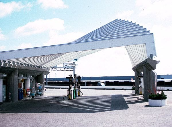 The Petrol Station 1986 Was Created For The Oil Company