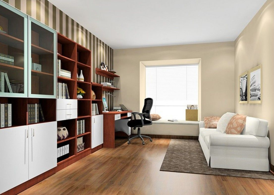Danish Minimalist Study Room Interior Layout Study Room Small