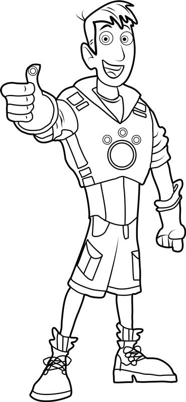 Wild Kratts Coloring Pages Wild kratts