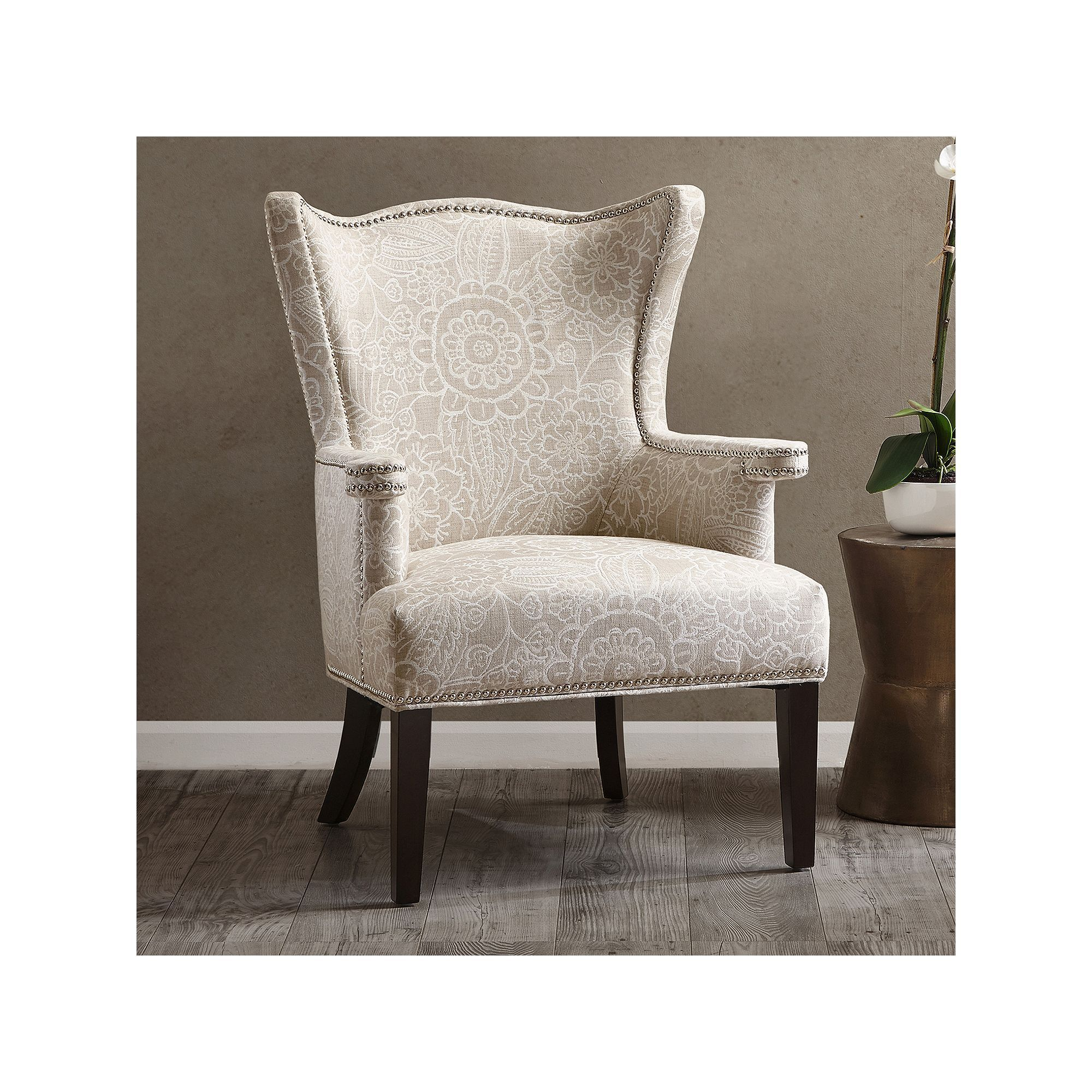 Remarkable Madison Home Usa Beret Floral Accent Chair Products Evergreenethics Interior Chair Design Evergreenethicsorg