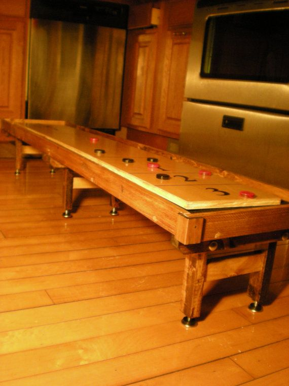 Ultra Mini Shuffleboard Tables Customize By RoecklessCreations, $190.00