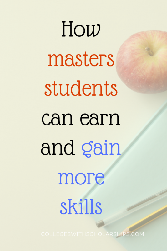 8 ways masters degree students can make money as they
