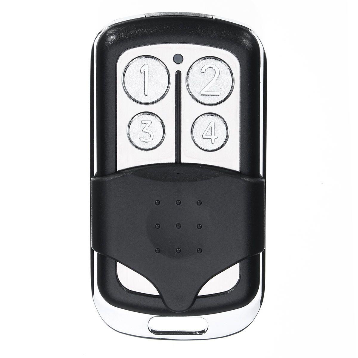 Compatible 4 Button Mini Garage Door Opener Remote Key Secur…
