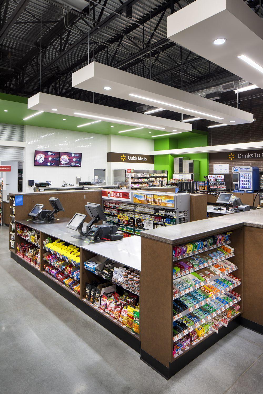 Walmart To Go Bentonville Ar Designed By Api Loja De Conveniencia Layout Da Loja Moveis Para Loja
