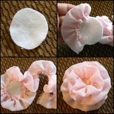 Good picture tutorial for hair flowers