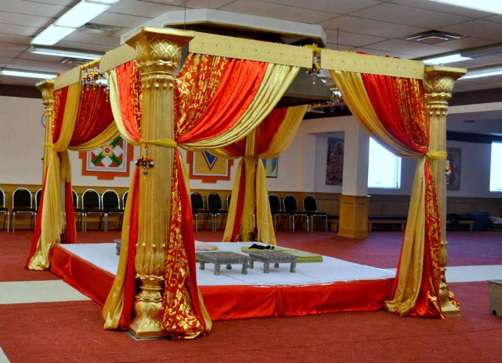 Indian Wedding Mandap Wedding Mandaps Decor