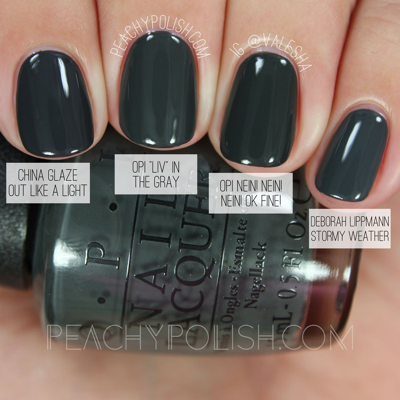 Opi Quot Liv Quot In The Gray Washington D C Collection