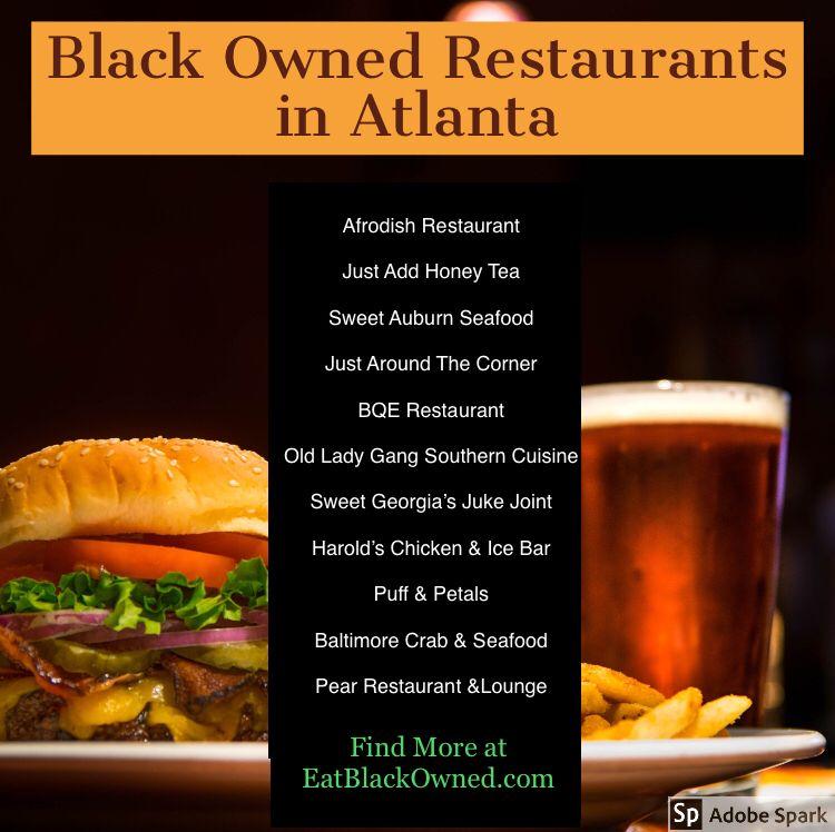 Black owned in atlanta food eat eat lunch