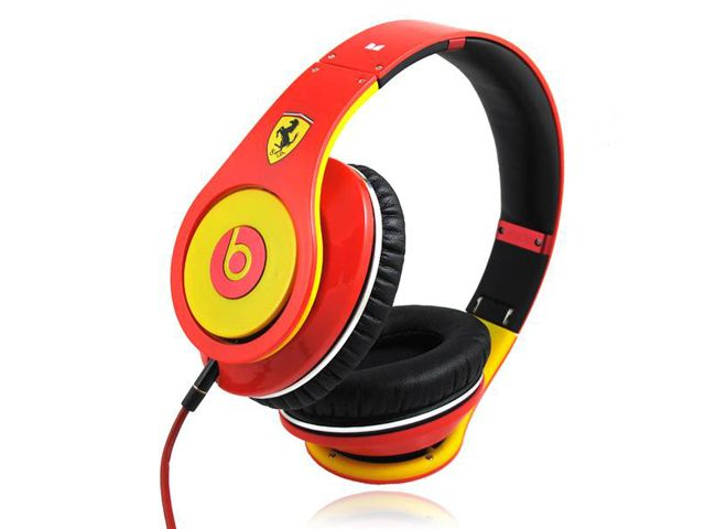 786376ac0c4 Limited Edition Monster Beats By Dr Dre Studio Red Yellow Ferrari ...