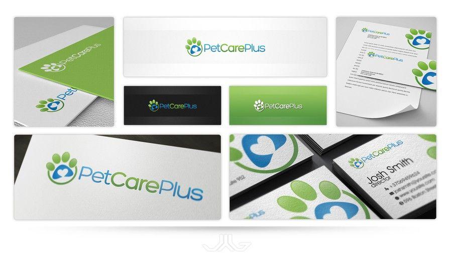 logo for Pet Care Plus by Jygnas
