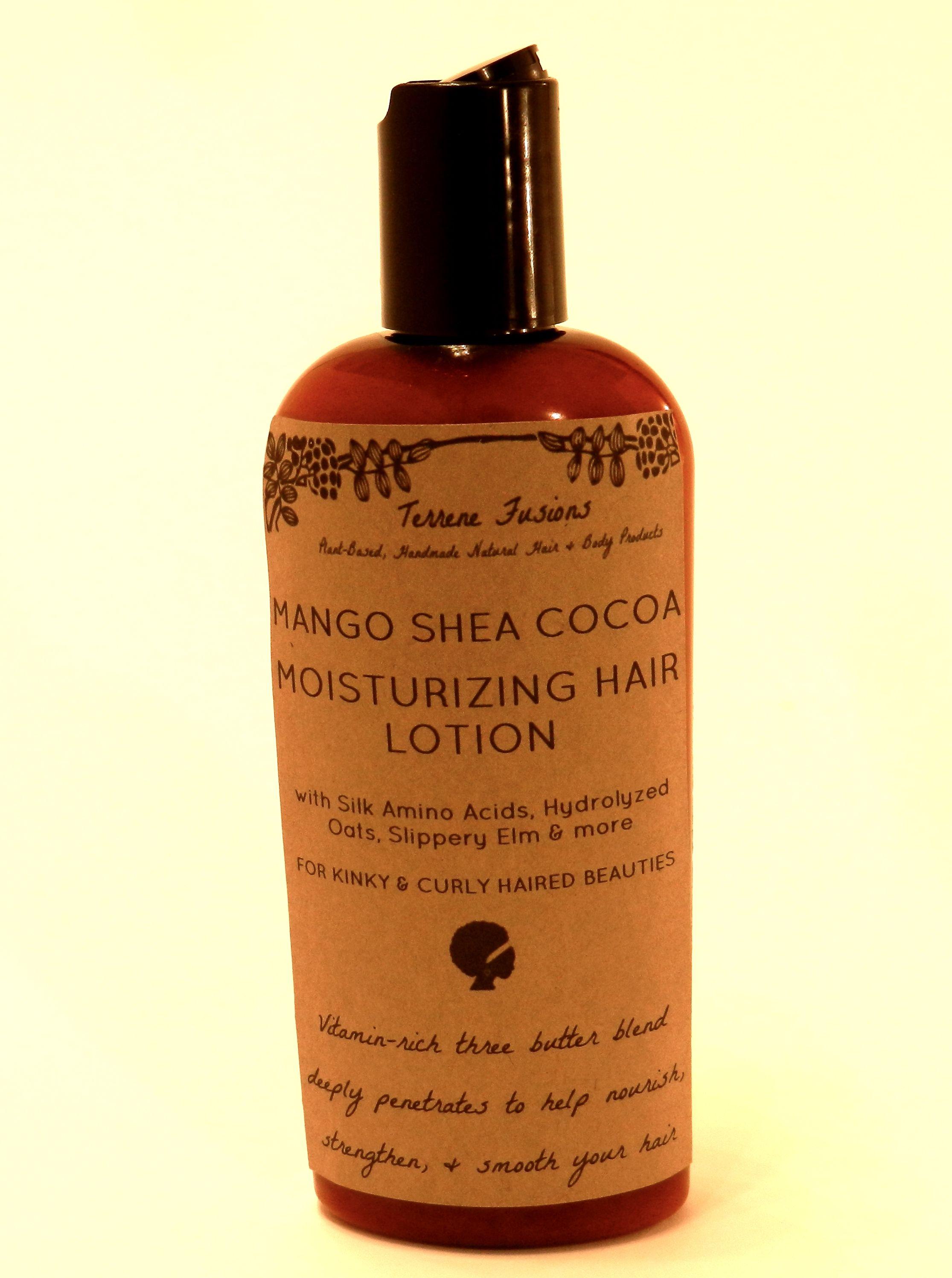 Mango Shea Cocoa Nourishing Hair Lotion With Silk Amino