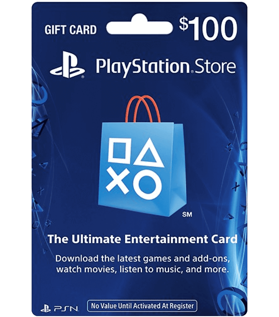 $100 PlayStation Gift Card - Redeem All Countries Account - psn gift